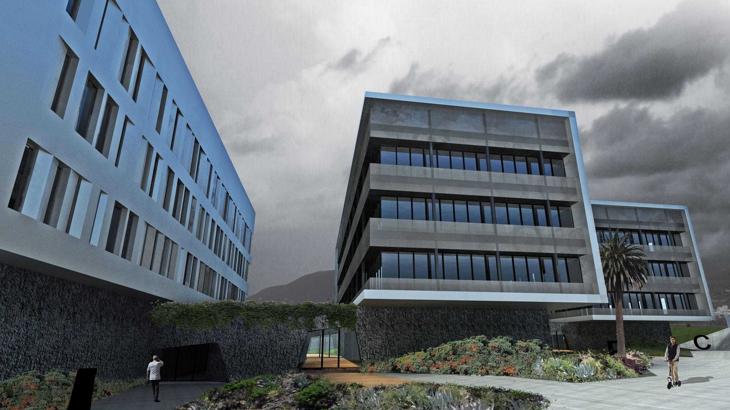 PROYECTO EDIFICIO MULTIEMPRESAS para InTech Tenerife