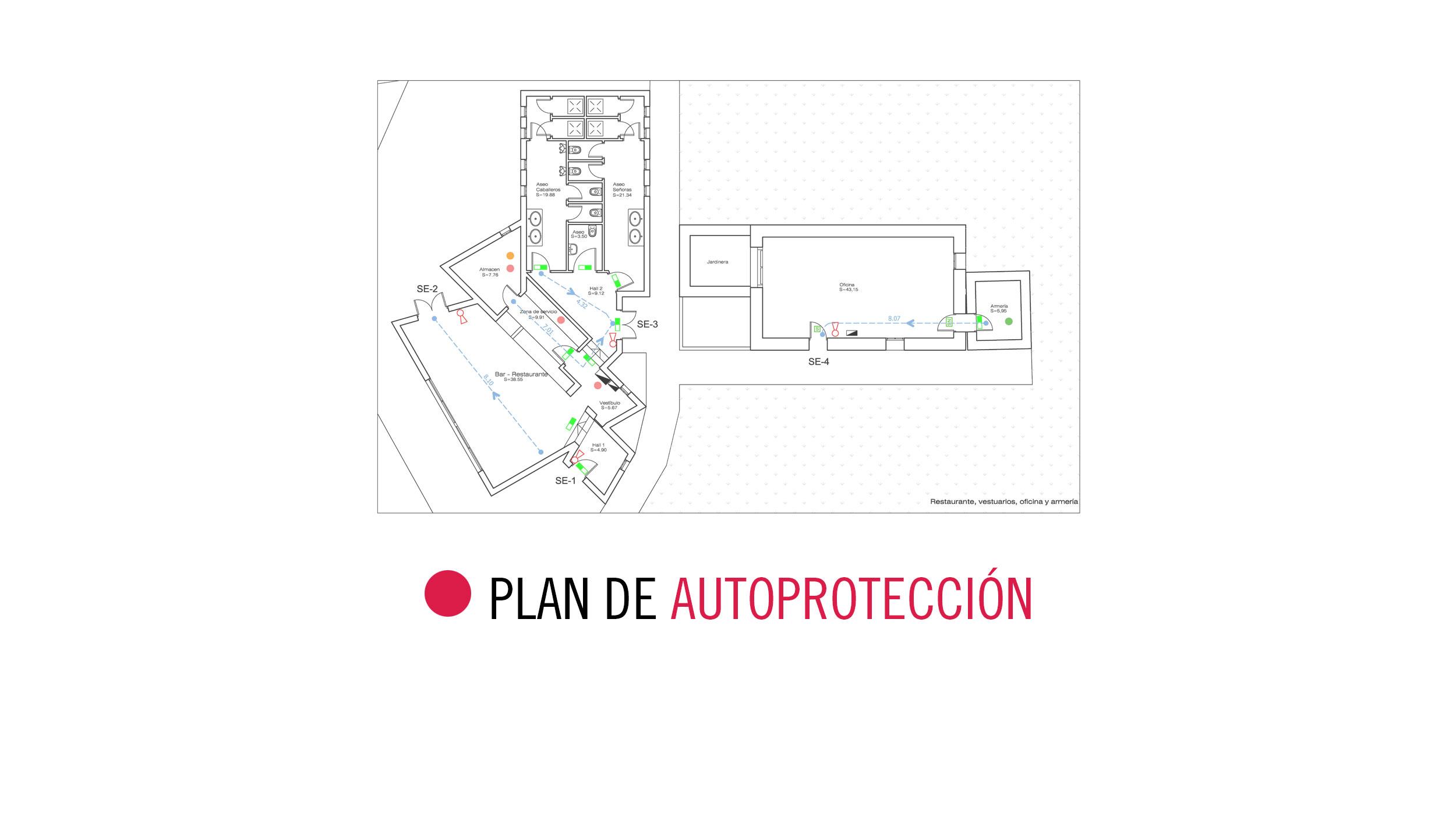PLAN DE AUTOPROTECCIÓN PARA CAMPO DE TIRO en Arona