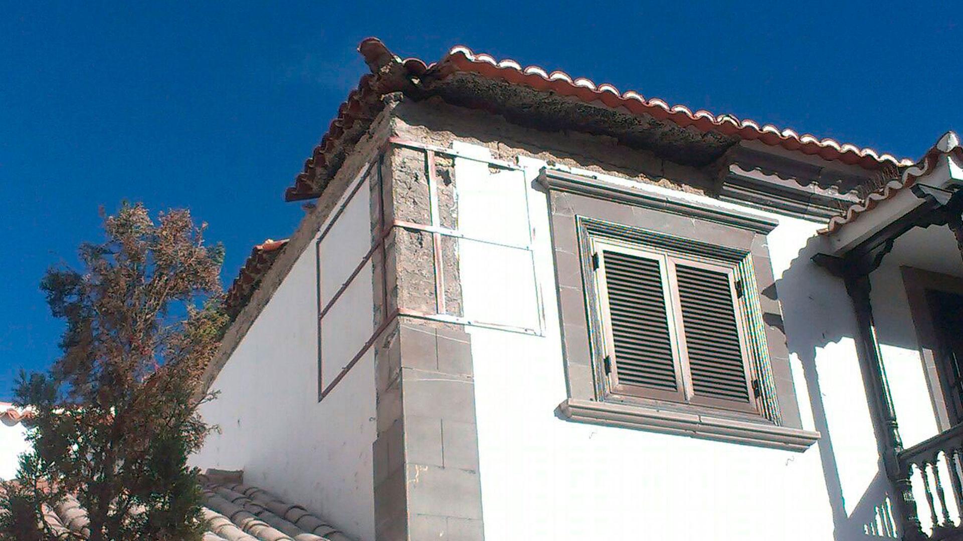 REHABILITACIÓN DE LA CUBIERTA del Ayuntamiento de Santiago del Teide