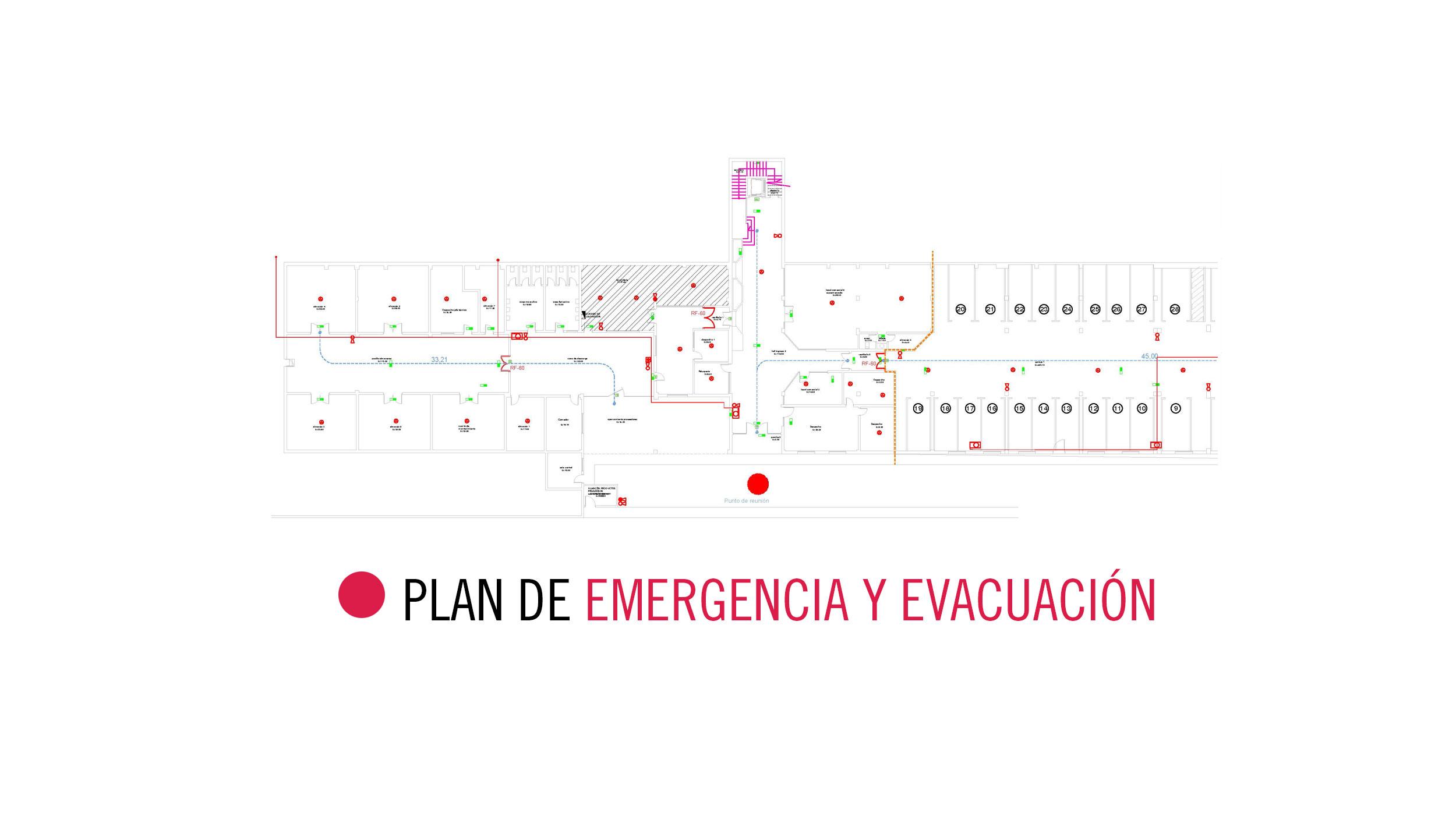 PLAN DE EMERGENCIA Y EVACUACIÓN para Complejo Hotelero